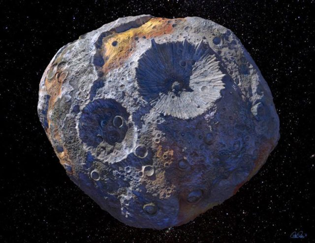 Study offers more complete view of massive asteroid Psyche