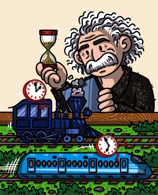 Timekeeping theory combines quantum clocks and Einsteins relativity
