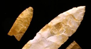 Tools made by some of North Americas earliest inhabitants were made only during a 300 year period