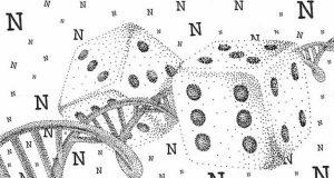 DNA molecules yield biochemical random number