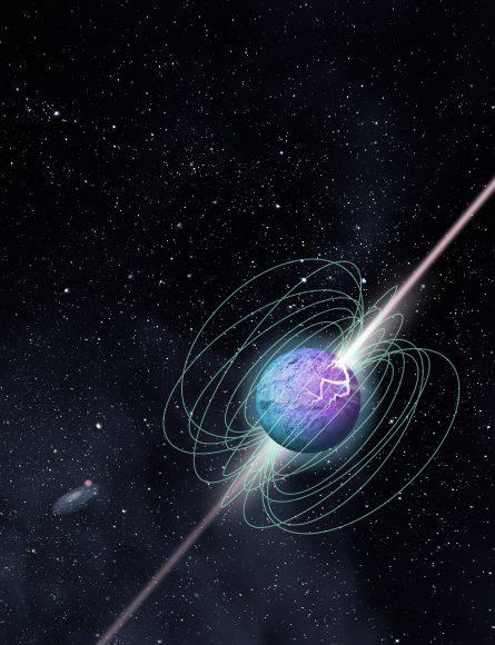 Detection of a short intense radio burst in Milky Way