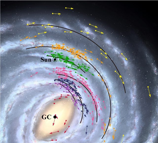 Earth faster closer to black hole in new map of galaxy