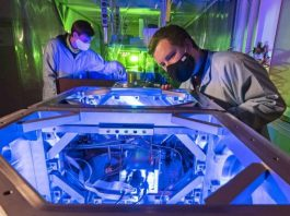 Researchers have succeeded in directly observing the formation and interaction of highly ionized krypton plasma
