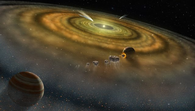 Solar system formed in less than 200000 years