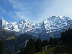 The Swiss Alps continue to rise