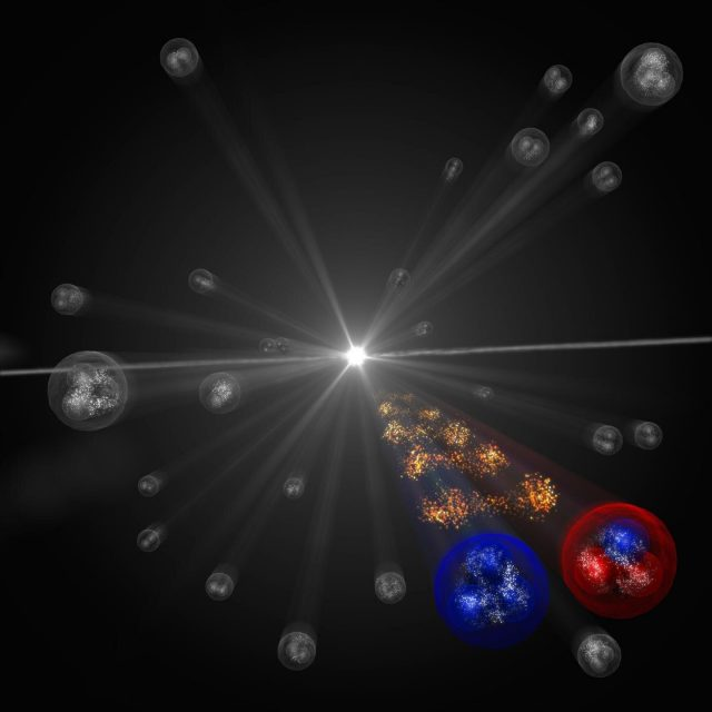 High precision measurements of the strong interaction between stable and unstable particles