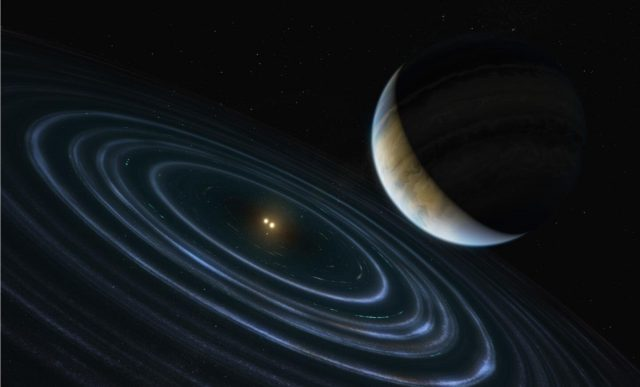 Hubble pins down weird exoplanet with far flung orbit that behaves like the long sought Planet Nine