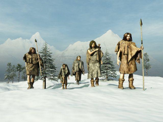 Neanderthals buried their dead