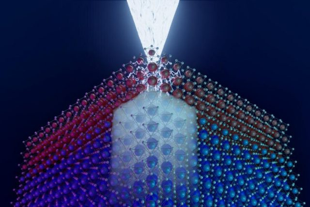 Researchers invent method to sketch quantum devices with focused electrons