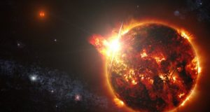 Robust stellar flares might not prevent life on exoplanets could facilitate its detection