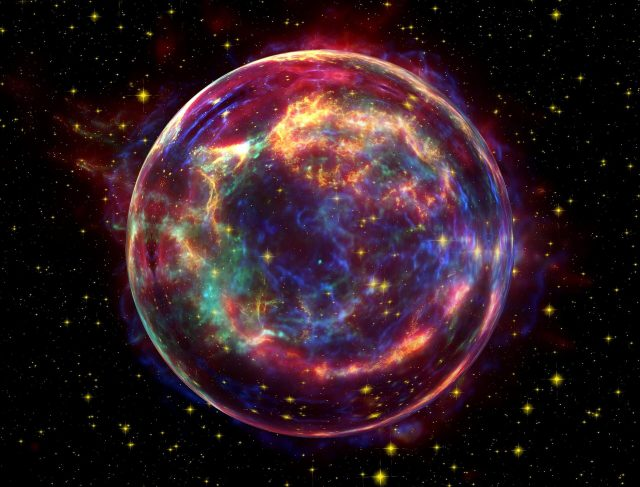 Chinese researchers obtain the most complete type Ia supernova template