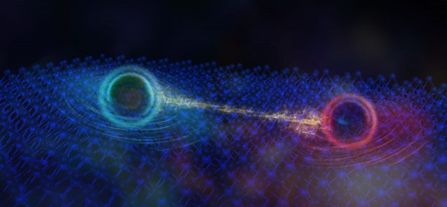 Discovery of quantum behavior in insulators suggests possible new particle