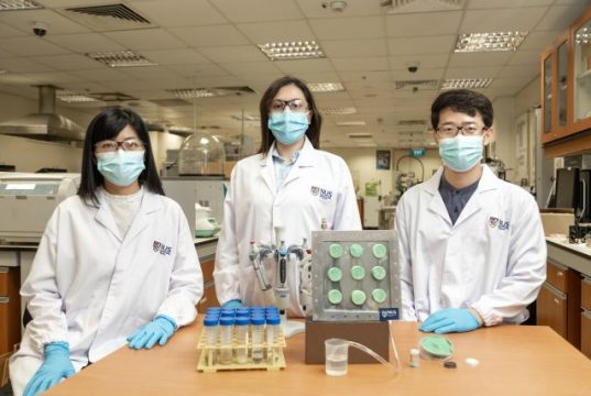 Engineers create smart aerogel that turns air into drinking water