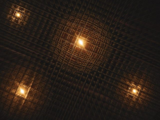 First glimpse of polarons forming in a promising next gen energy material