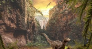 How giant dinosaurs may have spread seeds in prehistoric world