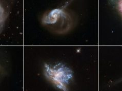 Hubble showcases six beautiful galaxy mergers 1