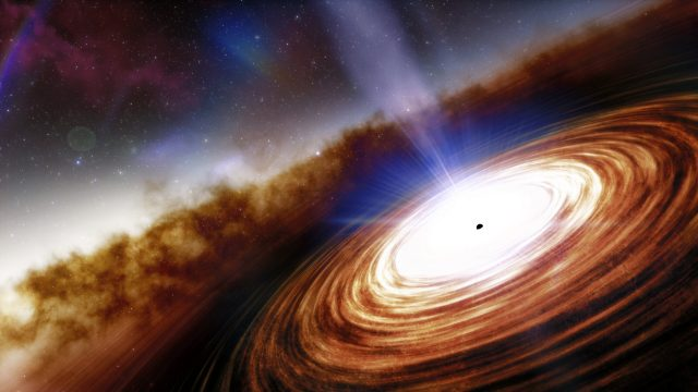 Most distant quasar discovered sheds light on how black holes grow