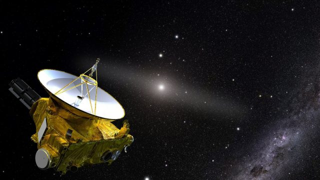New Horizons spacecraft answers the question
