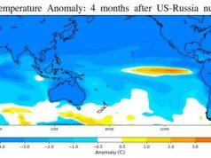 Nuclear war could trigger big El Nino and decrease seafood