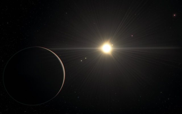 Puzzling six exoplanet system with rhythmic movement challenges theories of how planets form