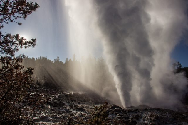 Reawakened geyser does not foretell Yellowstone volcanic eruptions study shows 1