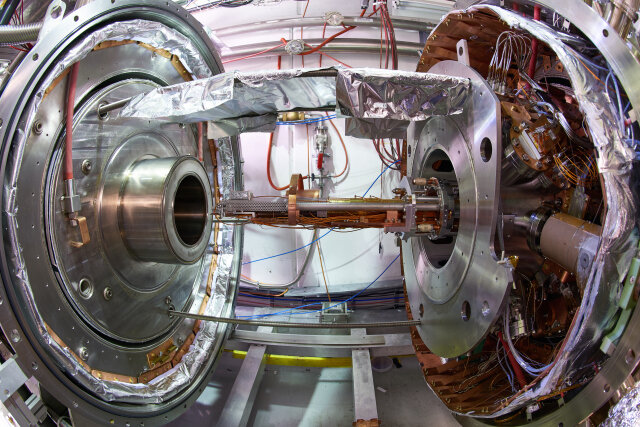 AEgIS on track to test freefall of antimatter