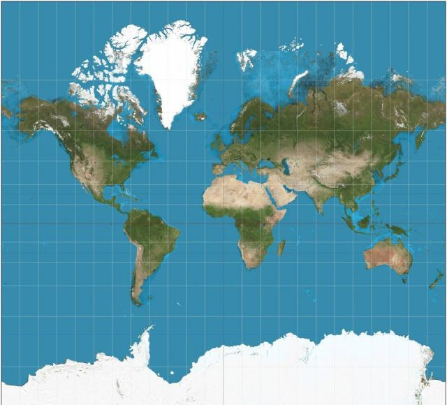 Astrophysicists re imagine world map designing a less distorted radically different way to see the world