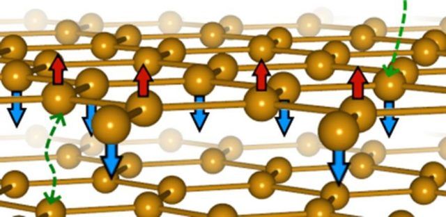 Magnetic graphene forms a new kind of magnetism