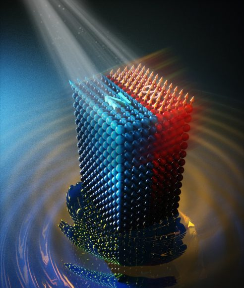 Researchers control a magnets state by optically shaking its atomic lattice