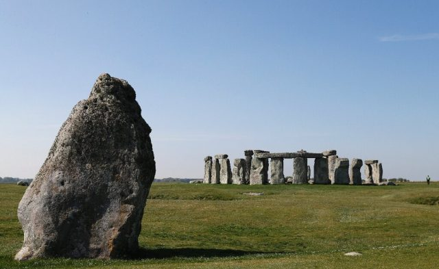 Stonehenge likely made with stones from older