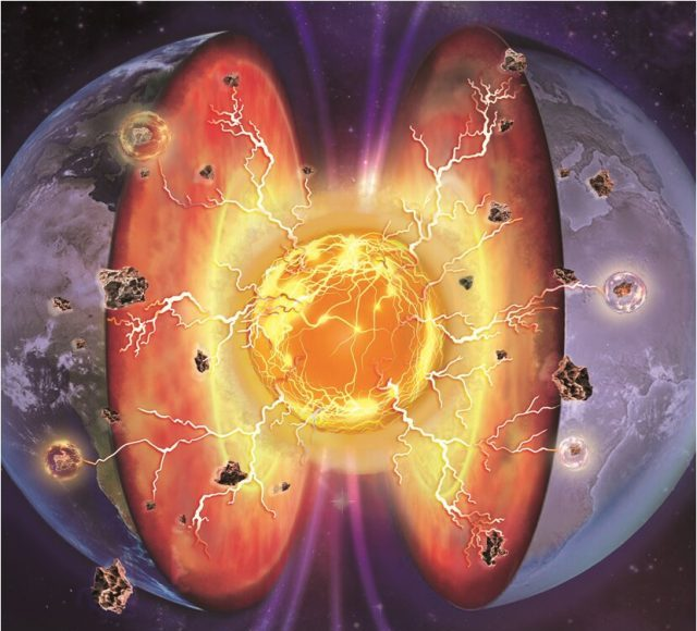 Earths deep mantle may have proton rivers made of superionic phases