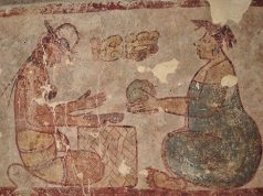 Mural shows earliest known record of salt being sold at a marketplace in the Maya region