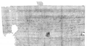 Secrets of sealed 17th century letters revealed by dental X ray scanners 1