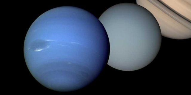 Two strange planets