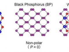 2D materials combine becoming polarized and giving rise to photovoltaic effect 1