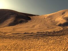 Can a new type of glacier on Mars aid future astronauts