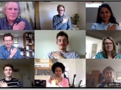 Hand signals improve video meeting success
