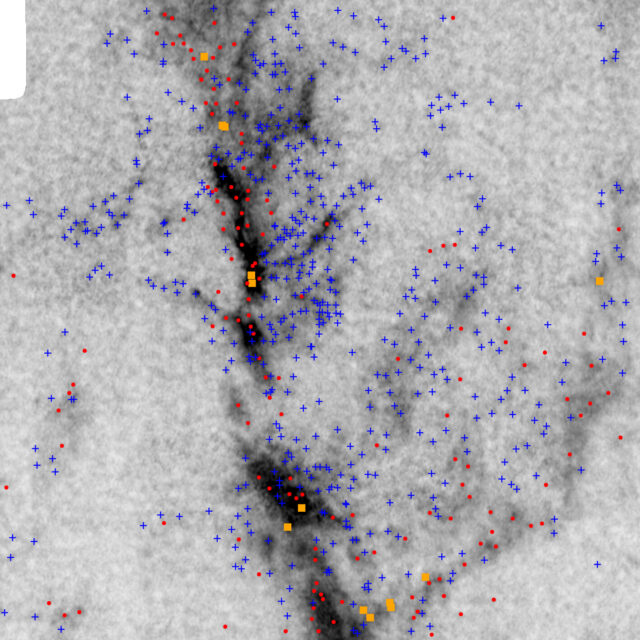 Surprise twist suggests stars grow competitively