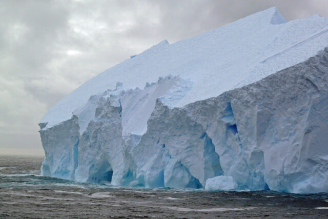 Antarctic ice sheet melting to lift sea level higher than thought study says