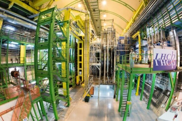 Subatomic particle seen changing to antiparticle and back 1