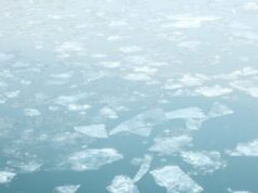 Earths cryosphere is shrinking by 87000 square kilometers per year