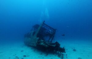 AI spots shipwrecks from the ocean surface and from the air