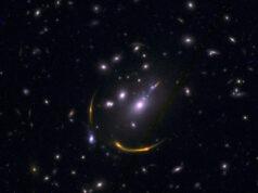 lensed galaxies by University of Arizona